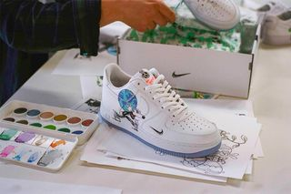 43ff516d4f The Steven Harrington x Nike Flyleather Collection Is Sustainable