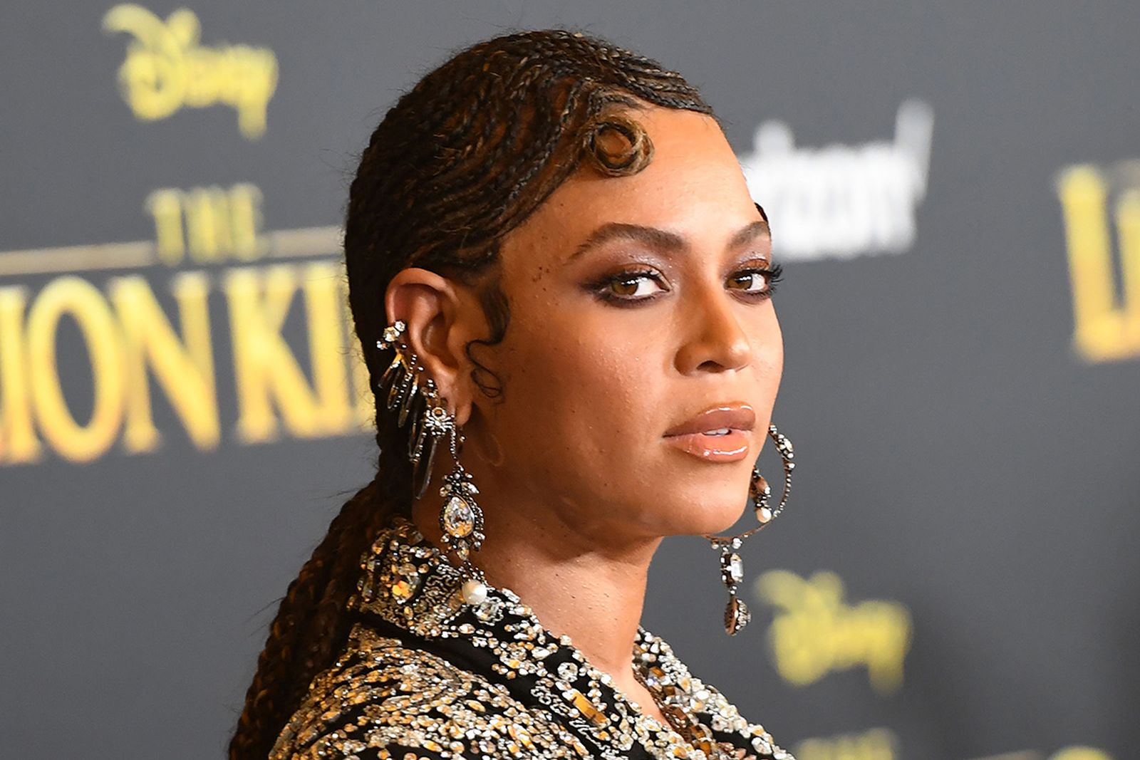 """Beyonce arrives for the world premiere of Disney's """"The Lion King"""""""
