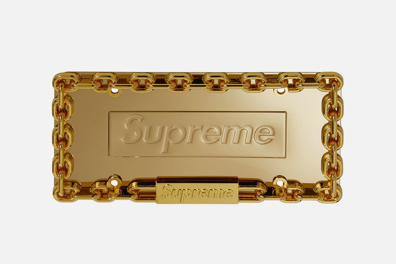 Chain License Plate