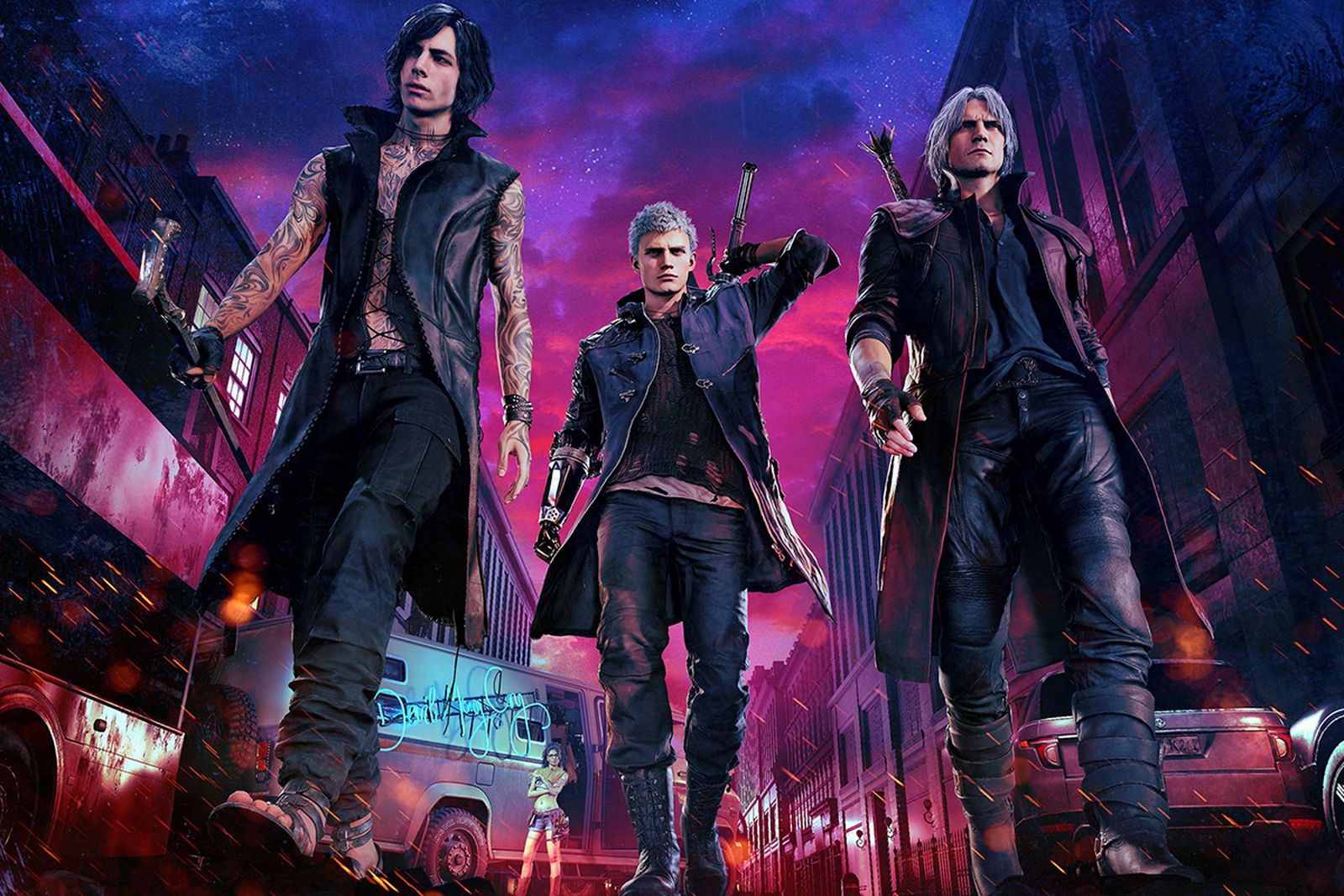 dm5 interview fashion Devil May Cry 5 playstation 4 xbox one
