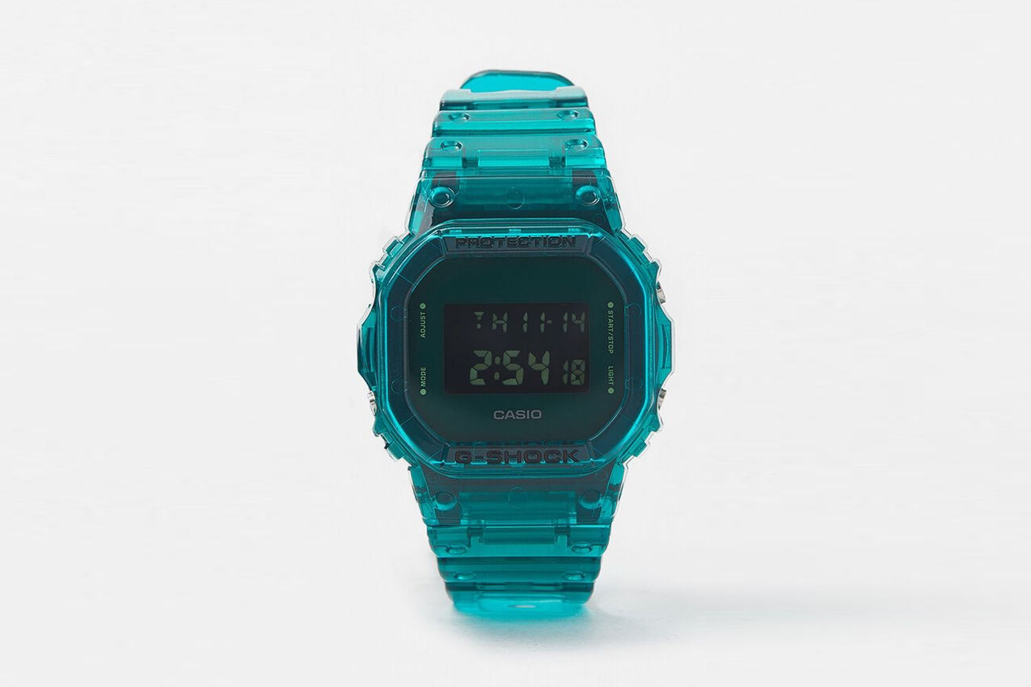 Skeleton Digital Watch