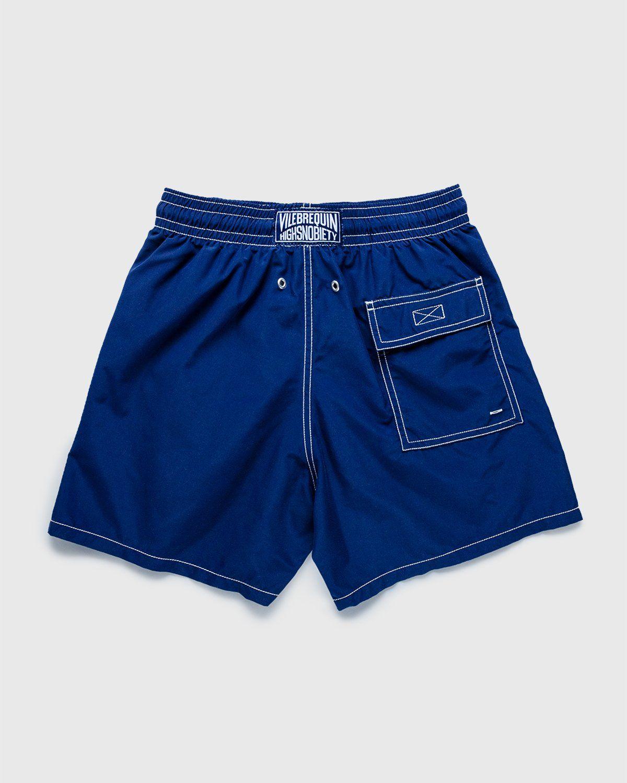 Vilebrequin x Highsnobiety — Logo Shorts Blue - Image 2