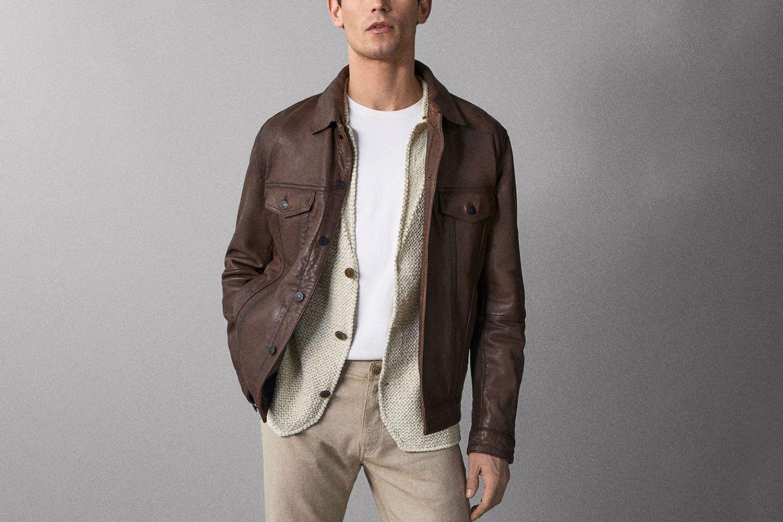 Nappa Jacket With Pockets