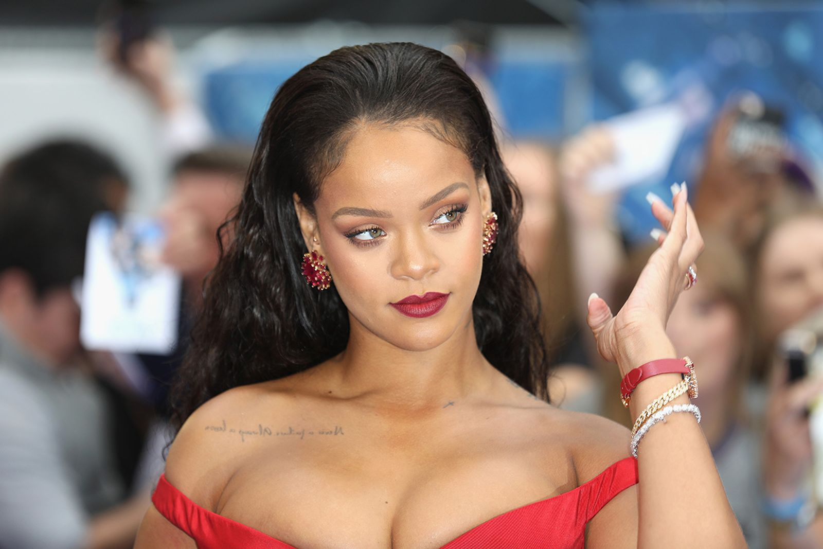 """Rihanna attends the """"Valerian And The City Of A Thousand Planets"""" European Premiere"""
