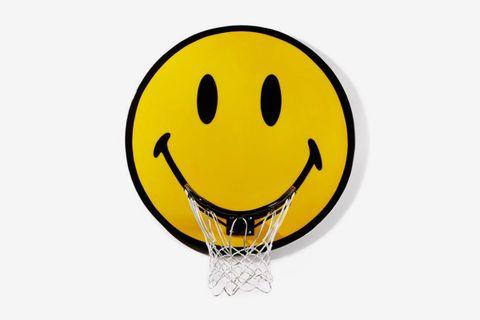 Smiley Basketball Hoop