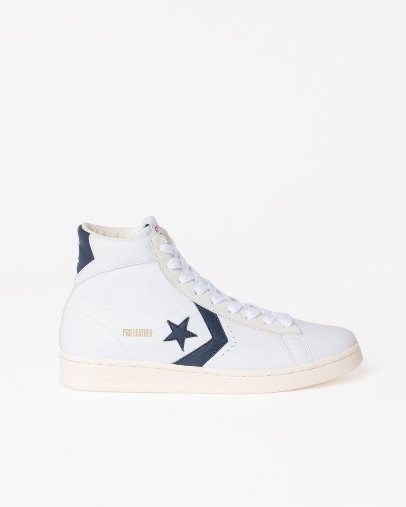 Converse — Pro Leather OG Mid White/Obsidian/Egret