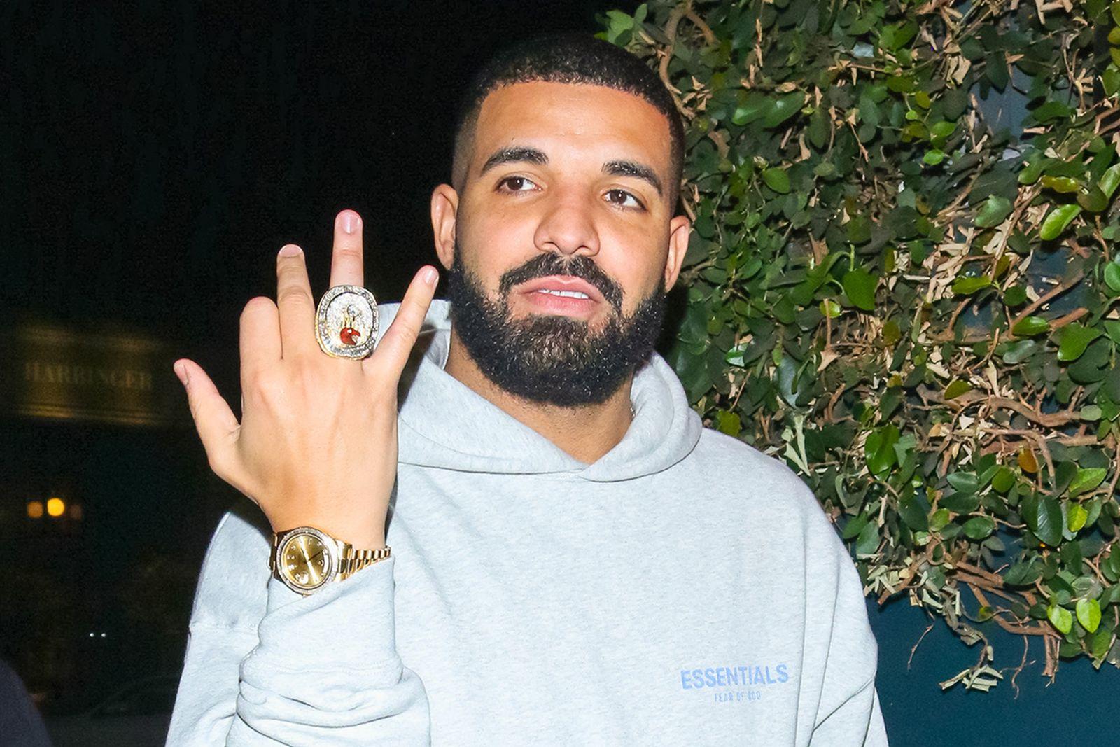 Drake NBA Championship Ring