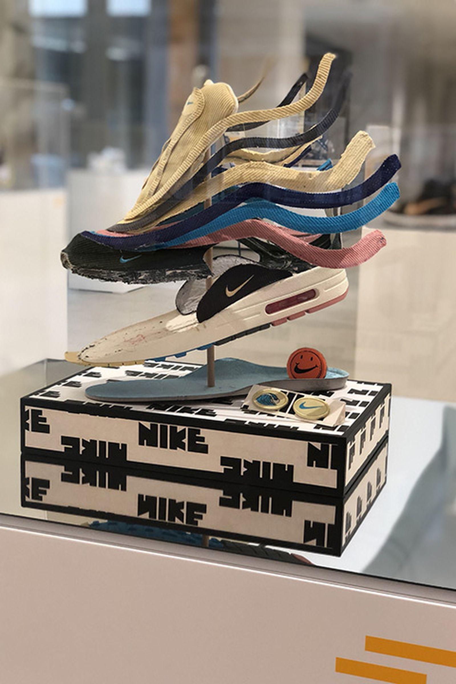 seoul devastate cafe sneaker exhibition Custom Sneakers