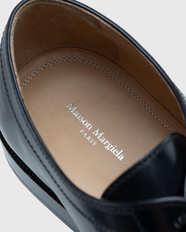 Maison Margiela – Tabi Lace-up Shoes Black - Image 4