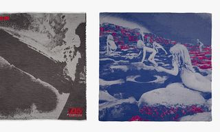 Paul Smith Led Zeppelin Scarves for 2014 Remaster Series