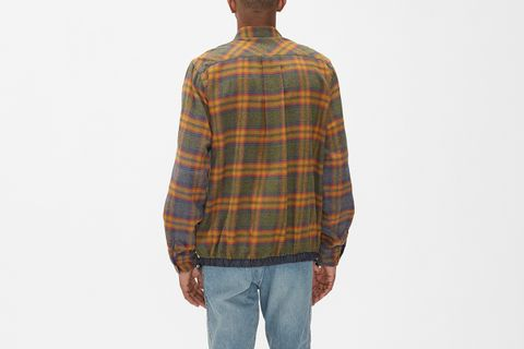 Dr. Woo Flannel Check Shirt