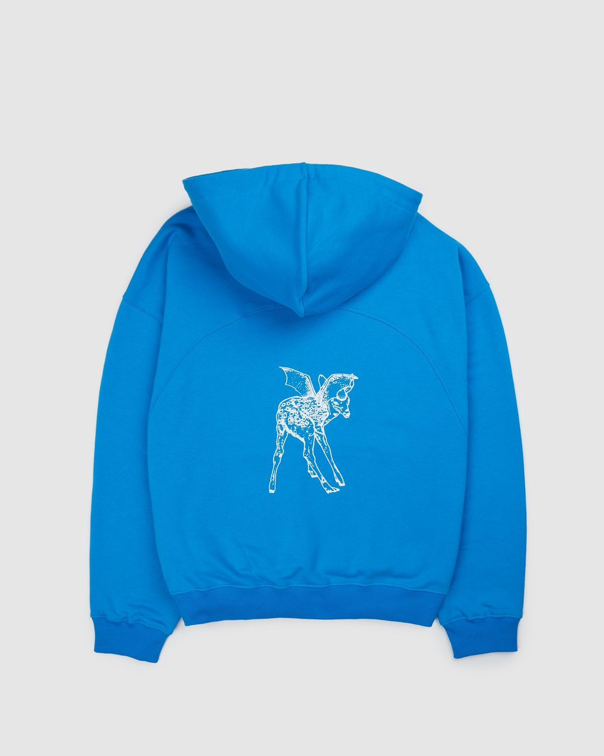 Lourdes NYC — Fawn Hoodie Blue - Image 1