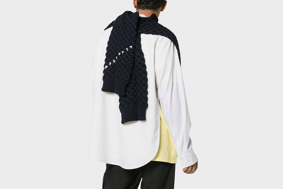 Sweater-Inspired Scarf