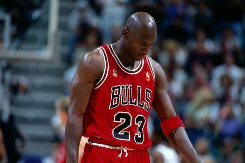 Michael Jordan Chicago Bulls Flu Game
