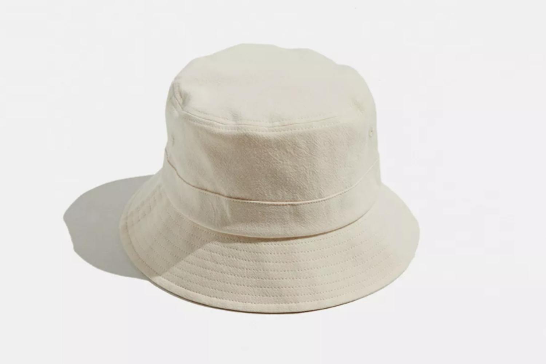 Shrunken Cotton Bucket Hat