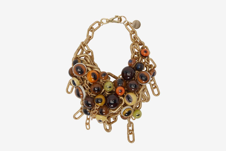 Eyeballs Chain Necklace