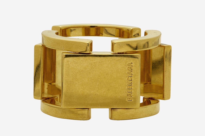 Gold Flat Ring