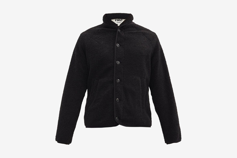 Beach Shawl-Collar Fleece Jacket