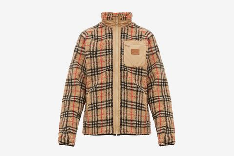 Westley Vintage Check Fleece Jacket