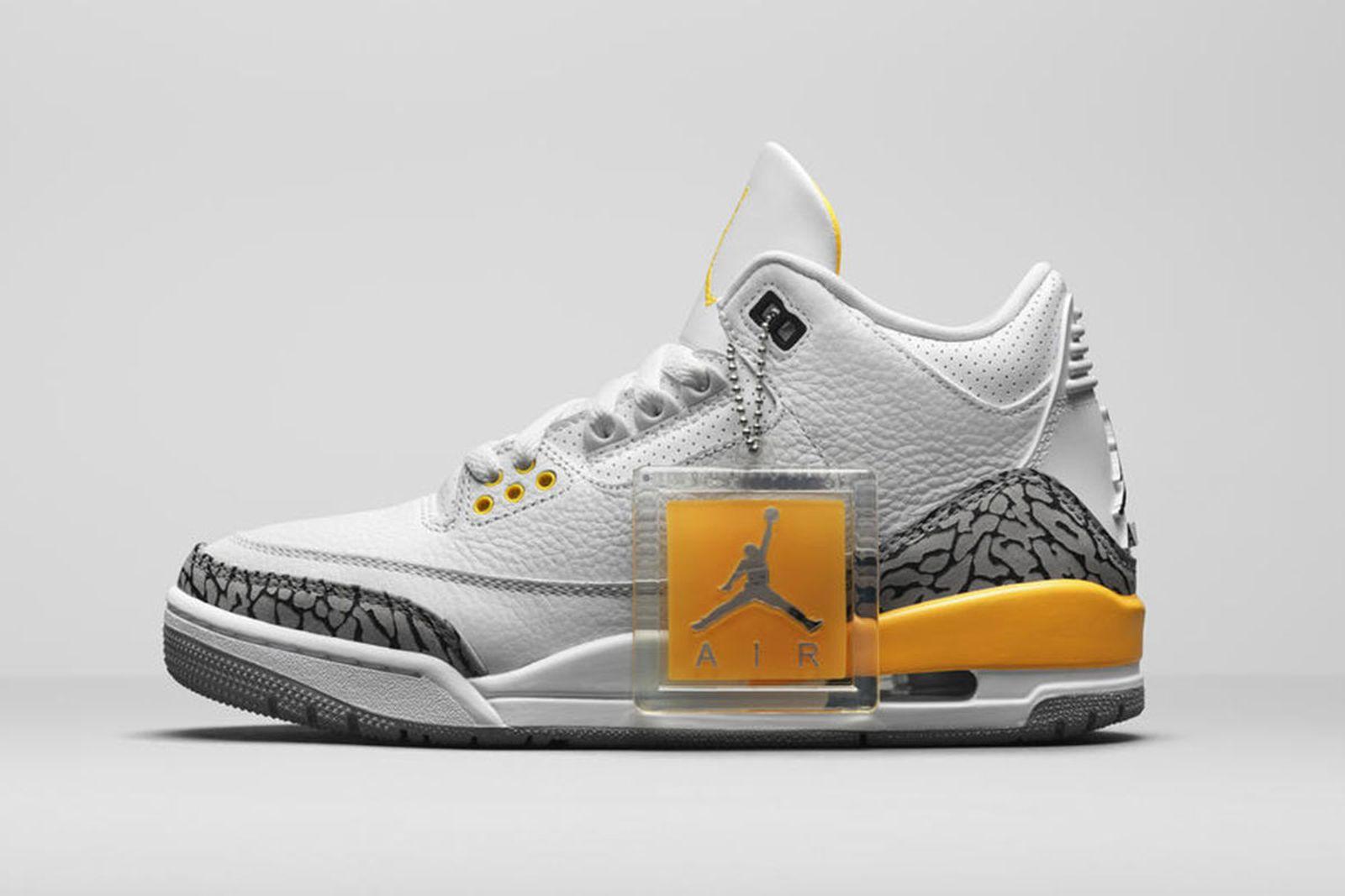Jordan Brand Fall 2020 sneaker lineup Air Jordan 3 citrus orange