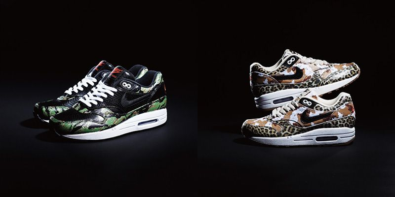 classic fit d70b6 7253d atmos x Nike Air Max 1 Animal Camo Pack Spring 2013 | Highsnobiety