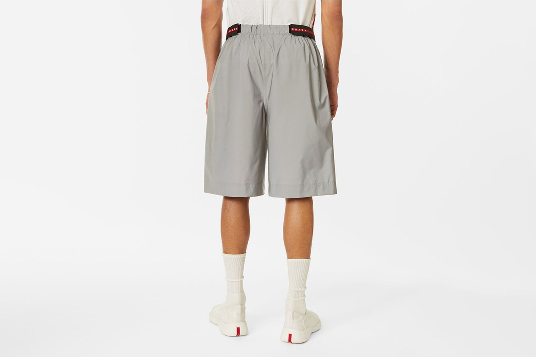 Reflective Bermuda Shorts