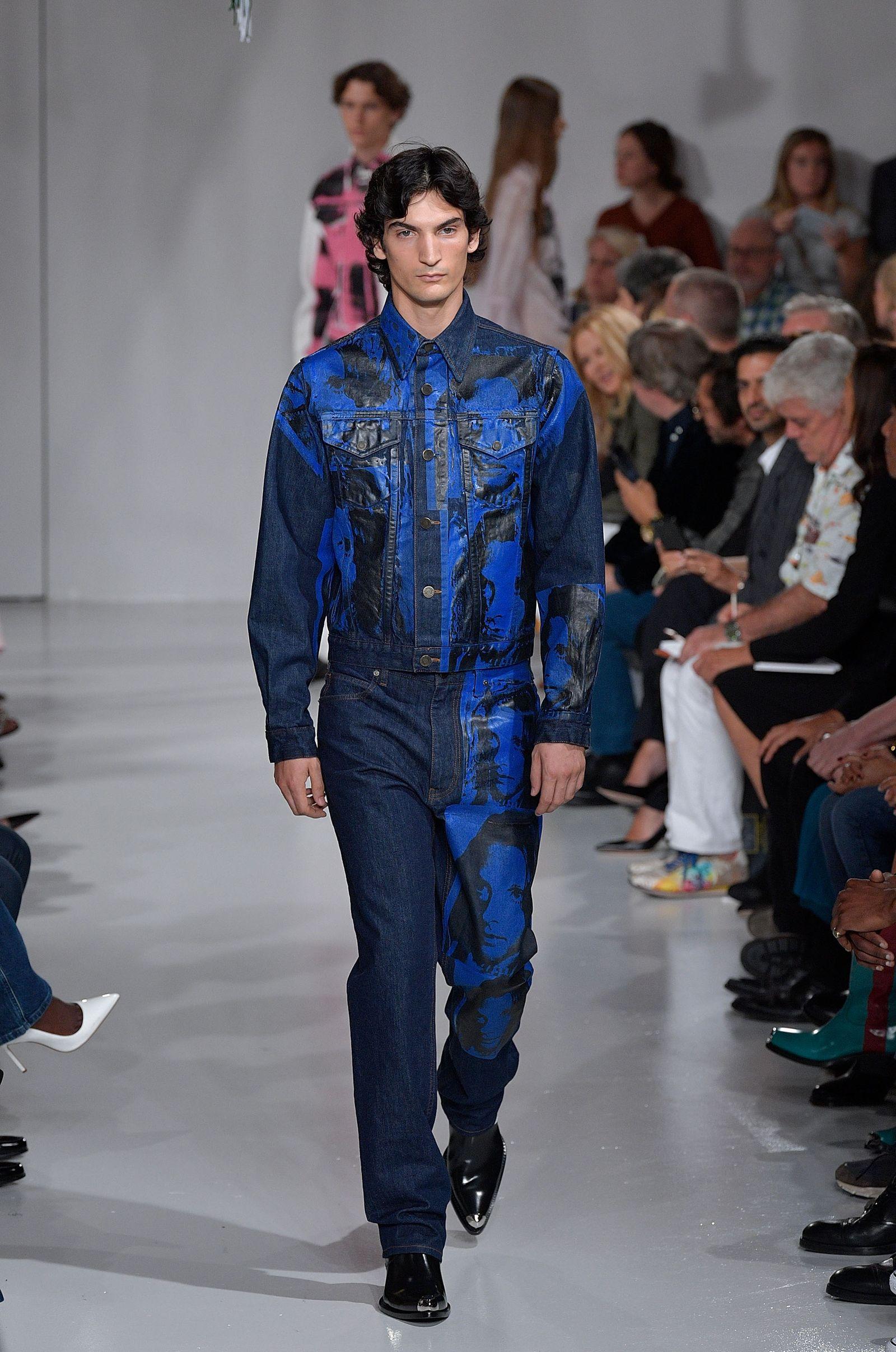 Calvin Klein Collection Runway September 2017 New York Fashion Week Cowboy Luke Sabbat Raf Simons