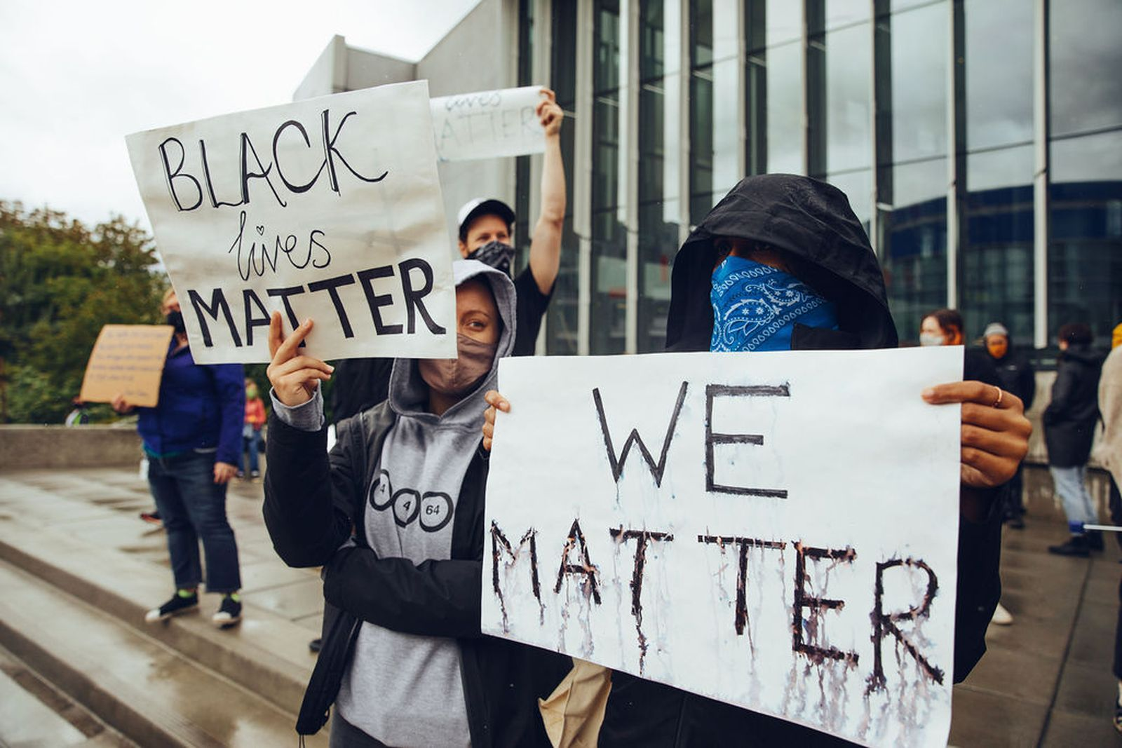 Adidas Employees in Protest for Black Lives Matter