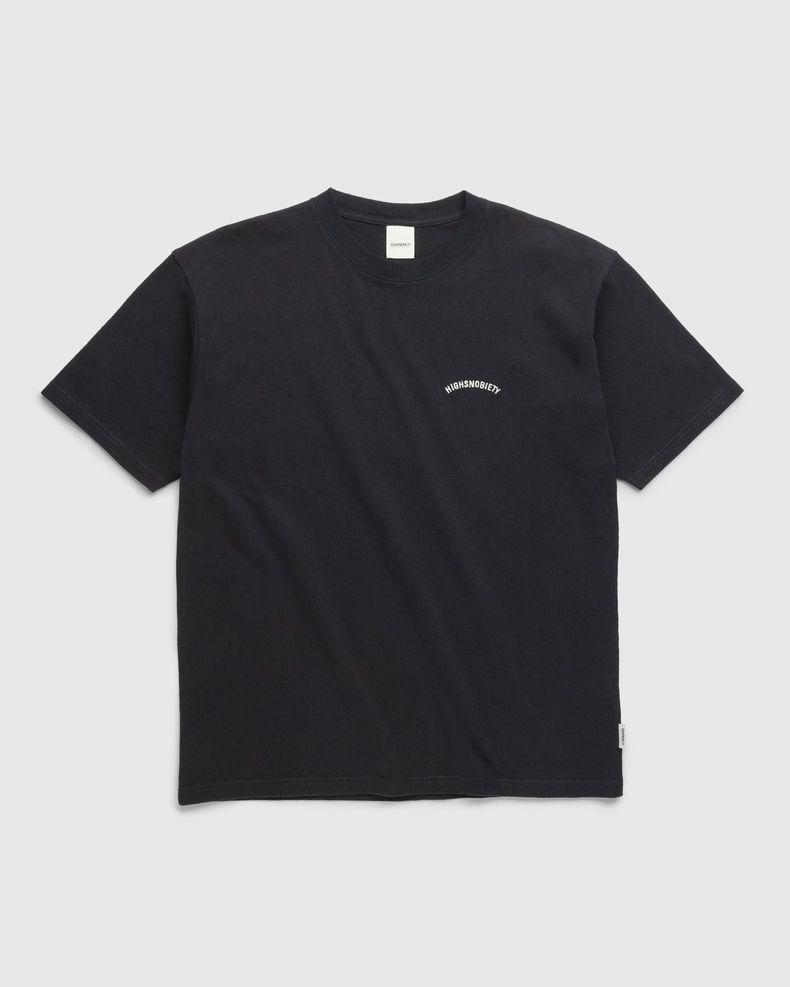Highsnobiety – Classic Heavy Logo T-Shirt Black