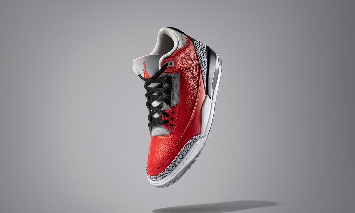 """Air Jordan 3 """"Red Cement"""" Chicago Exclusive: First Look"""