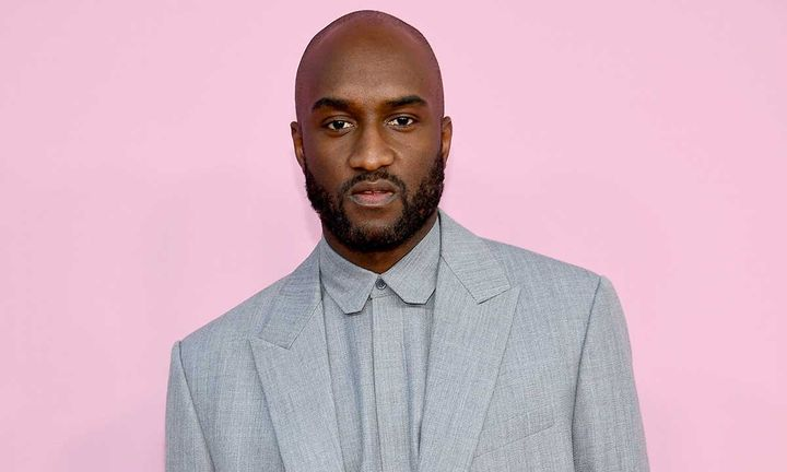 Virgil Abloh on the red carpet