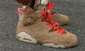 On-Foot Images Detail Travis Scott's New Air Jordan 6