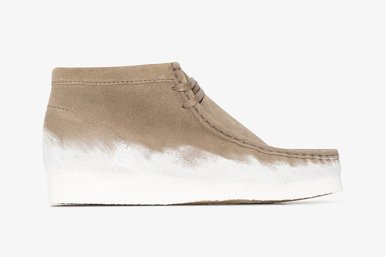 Wallabee Paint Boots