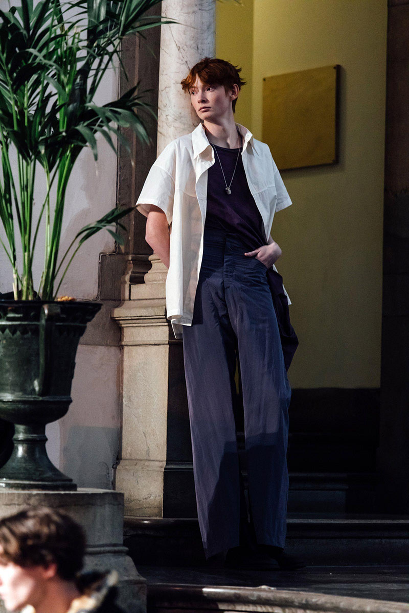 stockholm fashion week fw19 roundup Per Gotesson Scandinavian Man Selam Fessahaye