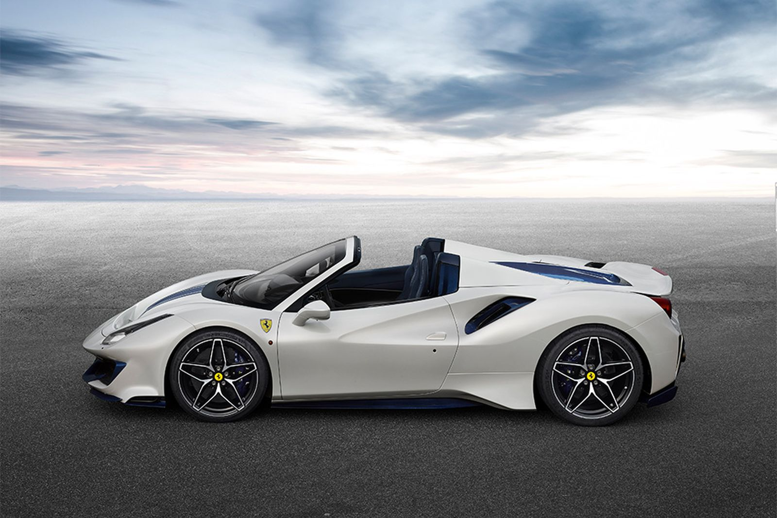 Ferrari Marks 50 Years Of The Convertible With 488 Pista Spider
