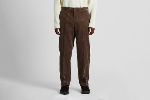 Wide-fit Corduroy Pants