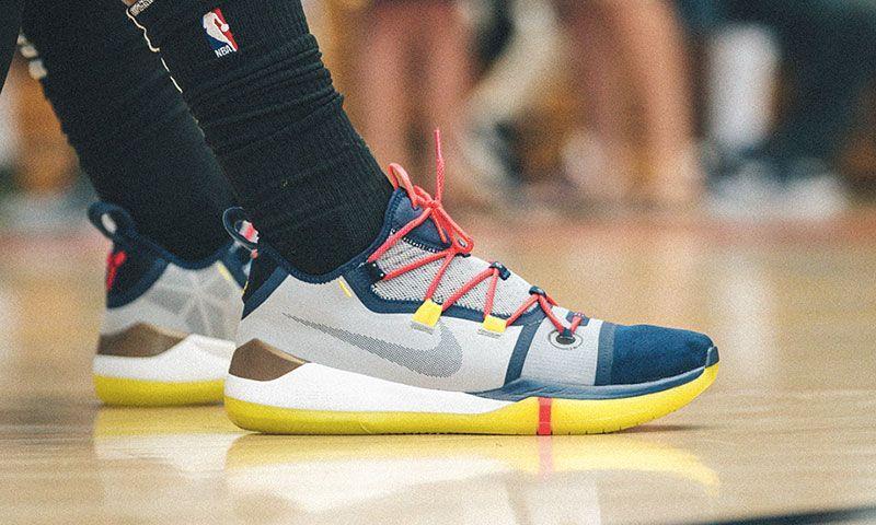 377b31261633 DeMar DeRozan Debuts New Nike Kobe A.D. on the Court