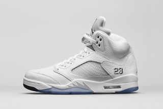 buy popular 1c3cb bbbbe Air Jordan 5 Retro  Metallic Silver