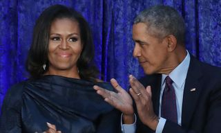 Barack and Michelle Obama Caught Turning Up During 'On the Run II' Tour