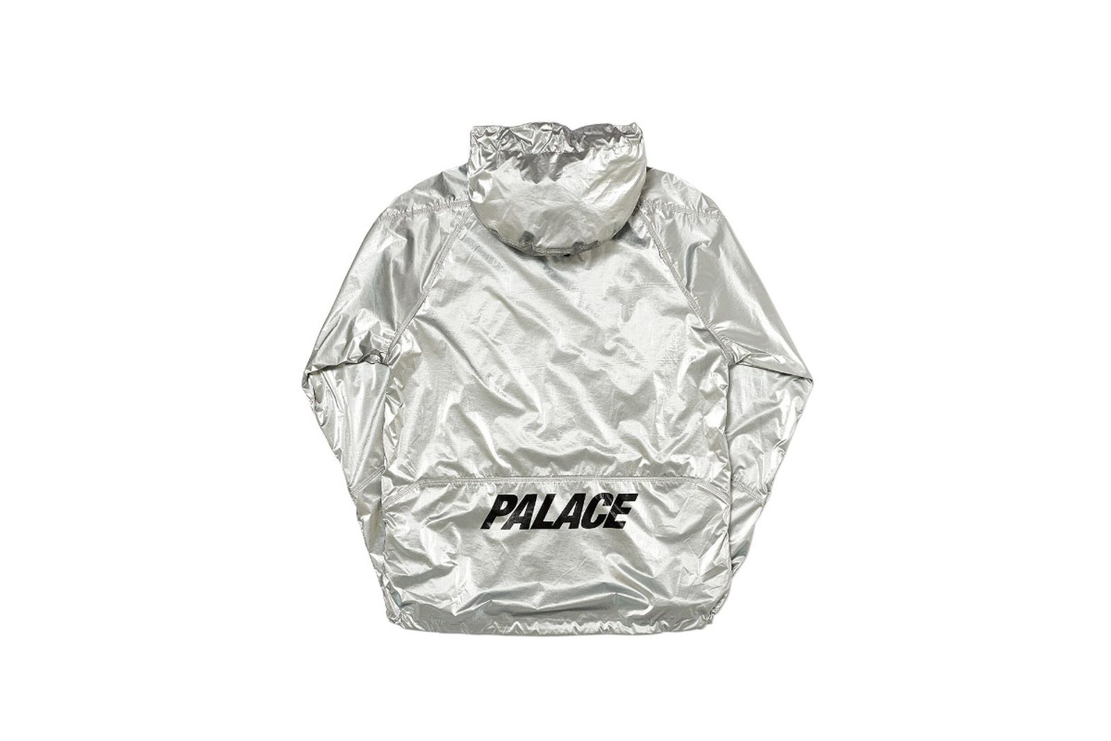 Palace 2019 Autumn Jacket G Loss Jacket silver back fw19