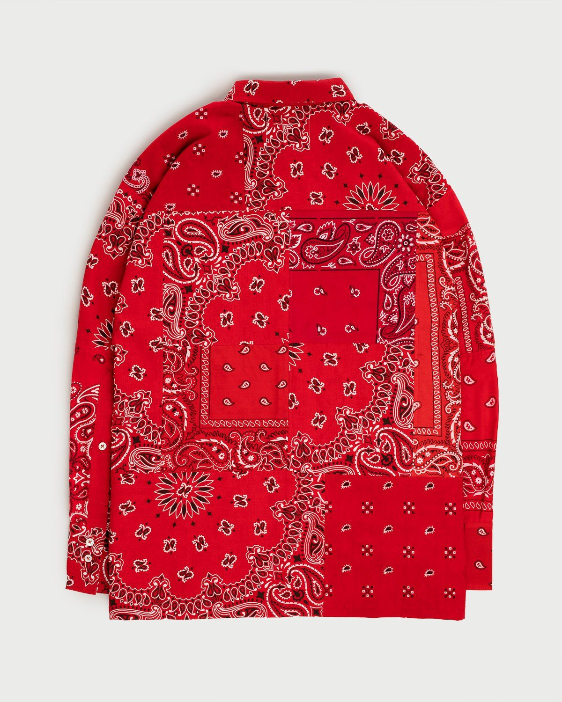 Miyagihidetaka Bandana Shirt Red  - Image 3