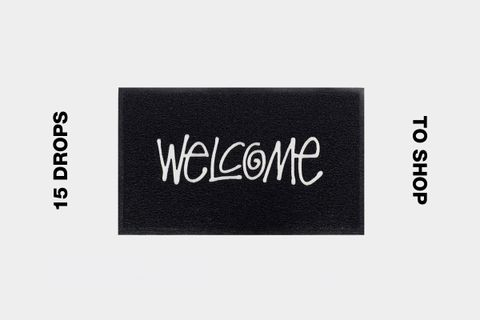 stussy pvc welcome mat best drops buy Aries Nepenhtes Nike