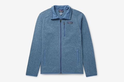 Better Sweater Fleece-Back Knitted Jacket