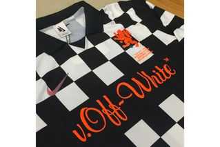 buy online 1fed8 1f8c2 Virgil Kitted his Old School Out with Nike x OFF-WHITE Jerseys