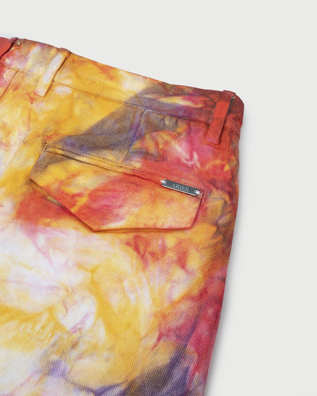 Aries - Tie Dye Chino Shorts Multicolor - Image 4