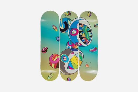 Sharp Tooth Bear Skate Decks (Set of Three), 2019