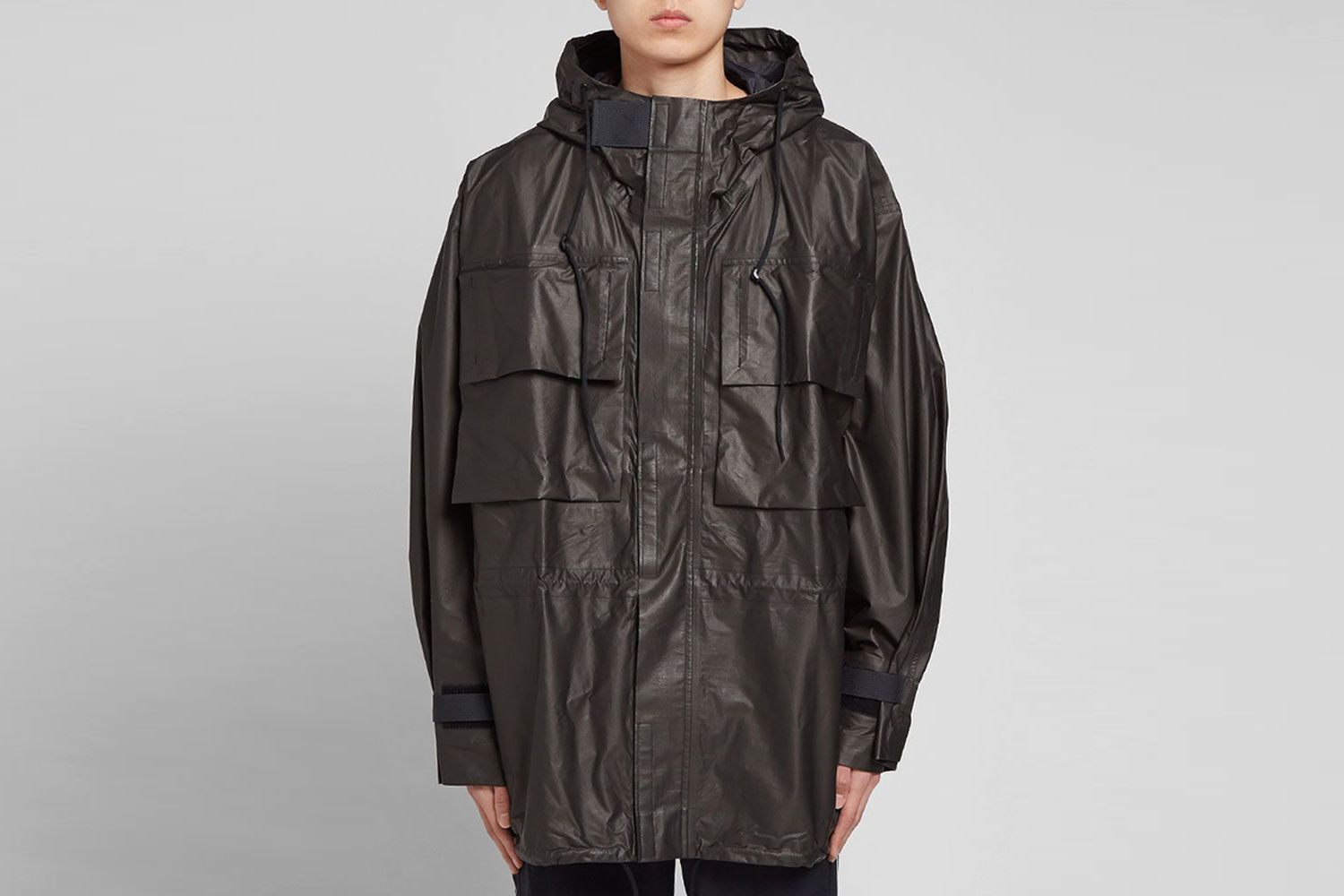 U Gore-Tex Hooded Utility Jacket