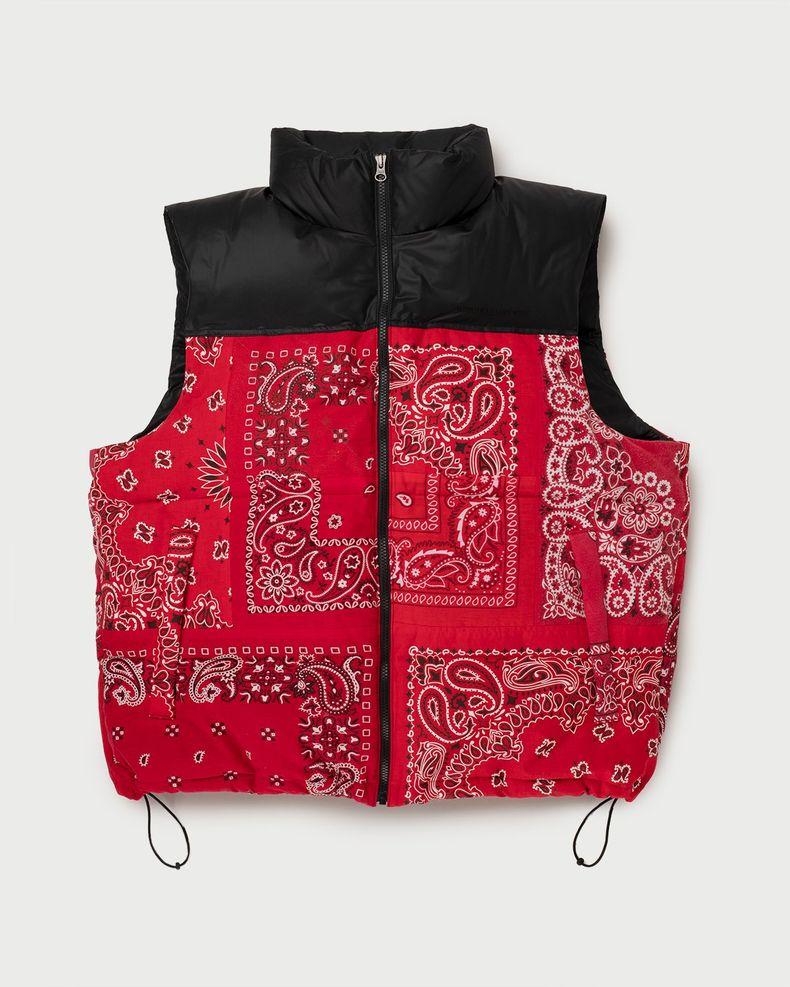 Miyagihidetaka — Bandana Vest Red