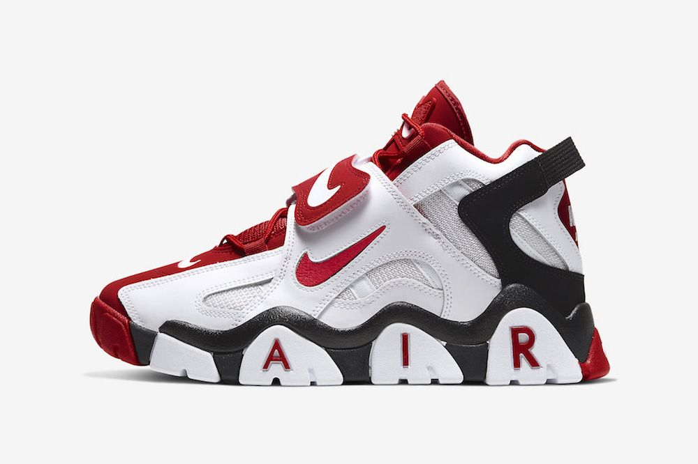 Nike's '90s-Era Air Barrage Mid Is Back in an OG Colorway
