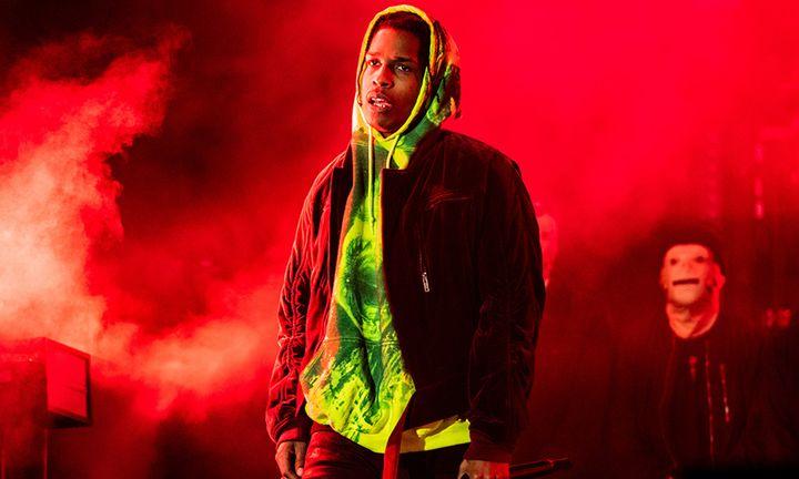 A$AP Rocky at 2019 Rolling Loud LA